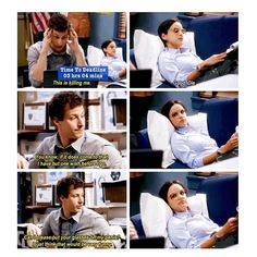 Jake and Amy. Brooklyn Nine Nine.