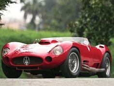 1956 Maserati 450s prototype by Fantuzzi.