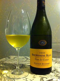 Mi Blog de Vinos: Sylvain Dussort Bourgogne Blanc Cuvée des Coutures...