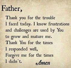 Thank you for waking me father .:-)