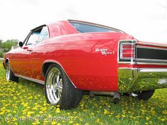 Exactly like the '66 Chevelle project I will have finished in two weeks.  I love classic muscle cars.