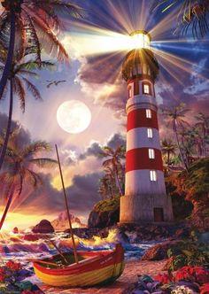 #Lighthouse #amazinglighthouses Christian Riese Lassen, artist
