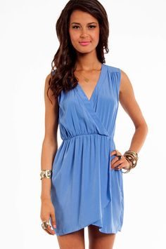 Wrap Me Up Dress $48 at www.tobi.com