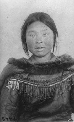 Inuit girl - circa 1910