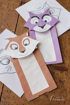 In celebration of the new movie THE NUT JOB 2, we will be making paper bag squirrel puppets so the kids can act out their favorite scenes! #TheNutJob2