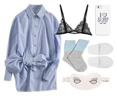 """""""Nighttime"""" by genuine-people ❤ liked on Polyvore featuring Casetify, Morgan Lane and Versace"""