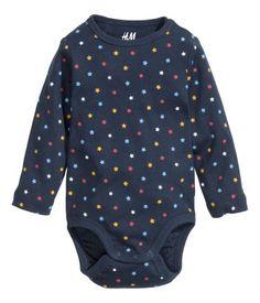 long-sleeved bodysuit | H&M US