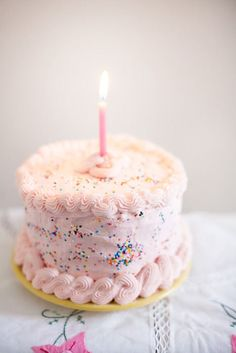What a cute little birthday cake