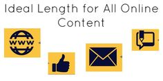 Ideal Length For All Online Content