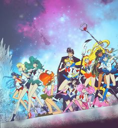 What is Sailor Jupiter doing in this picture???