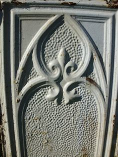 Victorian Tin Wall Piece Extra Large by LoveDoveTrading on Etsy, $50.00
