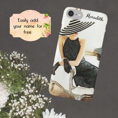 Chanel Fashion Phone Case Fashion Quote by ChezLorraines on Etsy