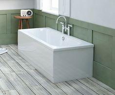 Coates Straight Double Ended Curved Bath 1600 x 750mm - V20111022SB scene square medium