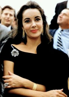 Elizabeth Taylor, the only picture of her looking human