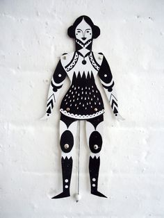 Design your own puppets, ready cut body parts to be decorated by kids. Could have a selection of figures - monsters/faries/princess etc... This image by Karolin Schnoor