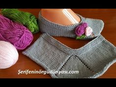 Eli Şiş Tutan Herkes Bu Patiği Yapabilir! - YouTube Knitted Baby Clothes, Crochet Clothes, Knitting Stitches, Baby Knitting, Hairstyle Trends, Popular Ads, Crochet Square Blanket, Moda Emo, Bridal Lingerie