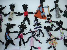 Bonecas de pano - Arte africana
