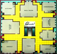cluedo board - Google Search