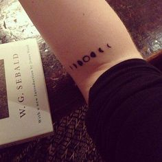 tattoos with meaning, moon cycle tattoo