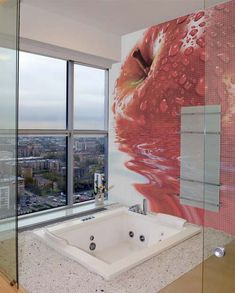 Mosaic Bathroom Tiles with Cool Images by Glassdecor | DigsDigs