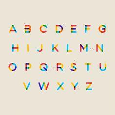2018 graphic design print design trends color font multicolore