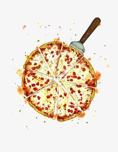 Healthy living at home devero login account access account Watercolor Food, Watercolor Illustration, Pizza Branding, Pizza Life, Pizza Art, Pinterest Instagram, Food Sketch, Pizzeria, I Love Pizza