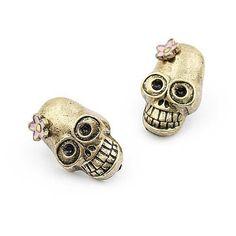 Rings And Things Skull earrings