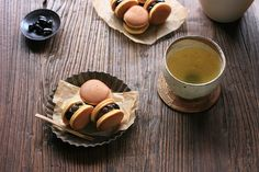 Tea Time with Mini Dorayaki by bananagranola (busy), via Flickr
