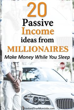 Are you looking for Passive Income Ideas that actually work? Hear it from the people who use these revenue streams today and get ready to start your own. Affiliate Marketing & Online Marketing allows you to make money when you are fast asleep in bed! Earn Money From Home, Earn Money Online, Way To Make Money, Earning Money, Money Fast, Investing Money, Making Money From Home, Quick Money, Online Earning