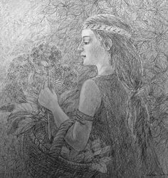 goddess Eir by skjon.deviantart.com on @deviantART