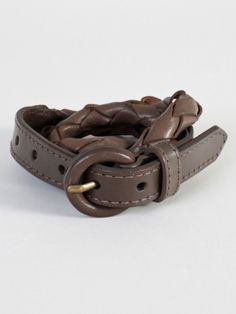 Unisex Leather Rope Belt | Tienda American Apparel