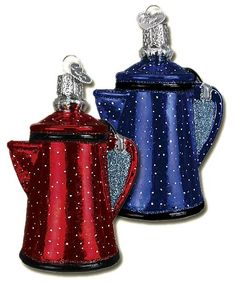 Campfire Coffee Pot Ornaments