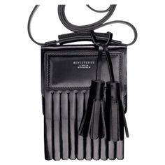 LAURIE BAG WITH FRINGE AND TASSELS by: ACNE @Vestiaire Collective (Global)