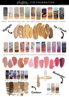 Maskcara iiiD Foundation, Lip & Cheek, Highlight, Illuminator & Contour www.maskcarabeautymama.com #maskcarabeauty