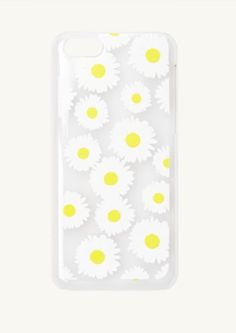Daisies Clear iPhone 5C Case | Cases & Charms | rue21
