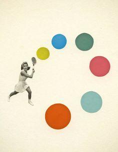 A Spot of Tennis by Cassia Beck
