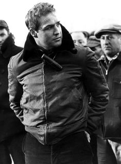 Marlon Brando in On the Waterfront, 1954.he was so great in this movie.one of the best method actors.