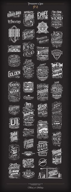 ArtStation - Typography | Logo Collection №2, Tomasz Biernat