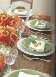 Table setting from Barefoot Contessa\'s home | Tablescapes ...