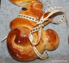 Lapins de Pâques briochés