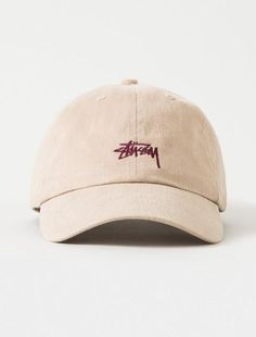 Mens / Womens Stussy Stock Iconic Popular Fashion Golf Camp Strapback Adjustable Cap - Wheat / Brown