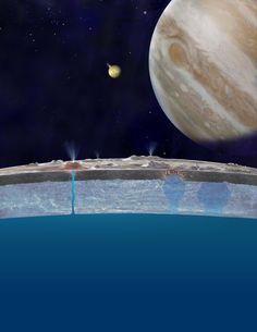 【AFP=時事】米航空宇宙局(NASA)は、ハッブル宇宙望遠鏡(Hubble Space Telescope)が捉えた木星の衛星「エウロパ(Europa)」の画像に基づき、26日に「驚くべき」発表を行うと明らかにした。