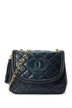 36b937e31786 Vintage Chanel Lambskin Matelasse Chain Shoulder Bag by LXR on