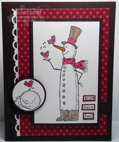 AlyStamps.com » Stampin' Up! Christmas Card Ideas
