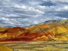 Painted Hills - Mitchell, Oregon. My Gparents lived in Mitchell!