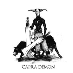 Dark Souls - Capra Demon by Skinrarb on DeviantArt Soul Tattoo, Dark Tattoo, Bloodborne Art, Dark Souls 2, Zombie Monster, Dark Blood, Fanart, Soul Art, Fantasy Creatures