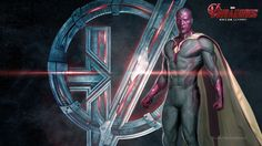 "NEW ""Avengers: Age of Ultron"" Character Posters: Vision"