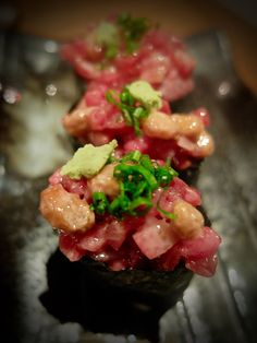 Japanese cuisine - Gunkan toro&natto - www.iloli-restaurant.com
