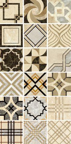Classical Interior Design, Beautiful Interior Design, Floor Patterns, Tile Patterns, Floor Design, Tile Design, Built In Wall Units, Entryway Flooring, House Gate Design