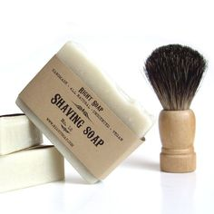 Shaving Soap  Natural Unscented Bentonite Shaving by RightSoap, $6.00